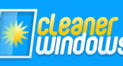 cleaner windows