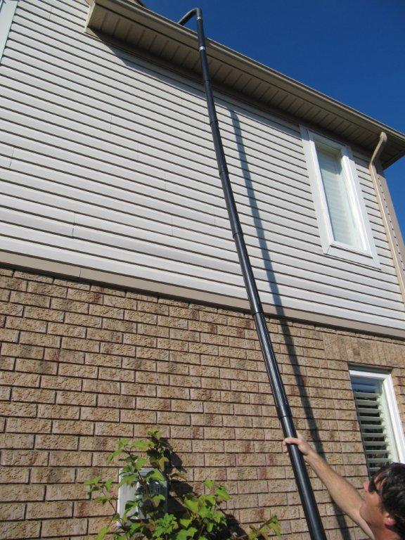 gutter cleaning & eavestrough cleaning in burlington