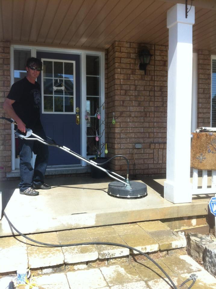 pressure washing in burlington